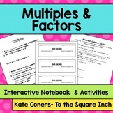Multiples and Factors Notes
