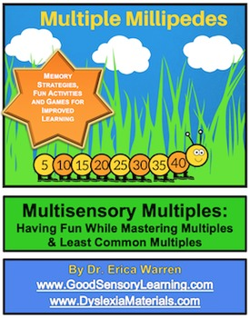 Multiples and LCM Made Easy with Millipedes Document and PowerPoint