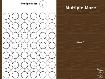 Multiples and Multiplication Maze