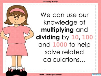 Multiples of 10, 100 and 1000