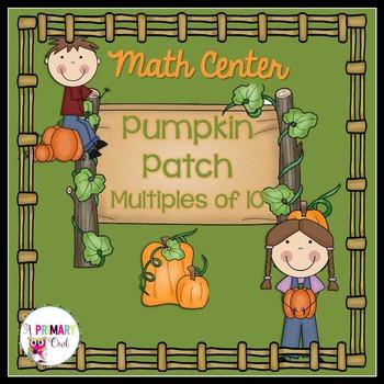 Multiples of 10: Multiplication Fall Freebie! Pumpkin Patch