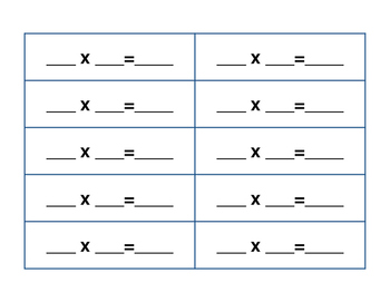 Multiples of 10 Spinner Math