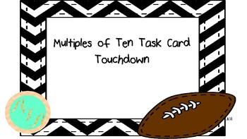 DOLLAR DEAL! Multiples of 10 Touchdown