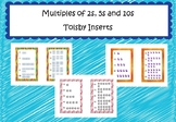 Multiples of 2, 5 and 10 Tolsby Frame Inserts