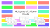 Multiples of 2 Game Cards