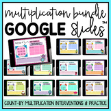 Multiplication Facts Google Classroom™ BUNDLE Distance Learning