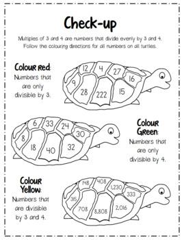 Math Aboriginal Focus   Multiples of 3&4