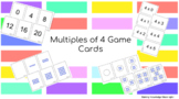 Multiples of 4 Game Cards