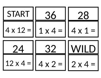 Multiples of 4 SLAM game