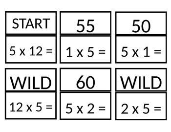 Multiples of 5 SLAM game