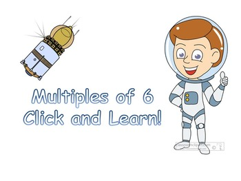 Multiples of 6 Flashcards
