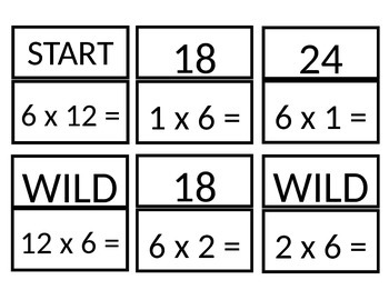 Multiples of 6 SLAM game