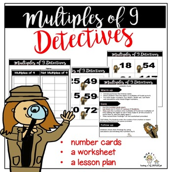 Multiples of 9 Detectives