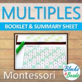 Montessori Multiples of Numbers