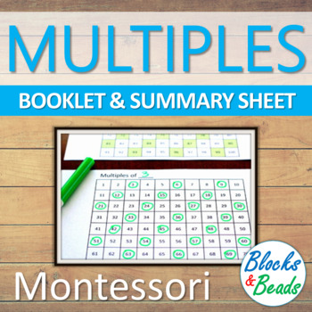 Montessori Multiples of Numbers