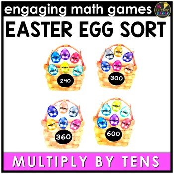 Easter Math Game - Multiples of Ten