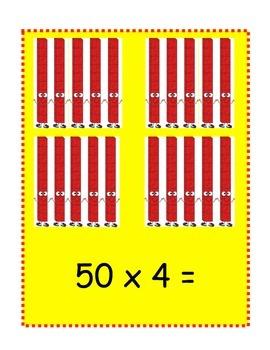 Multiples of Ten MCC3.NBT.3 Teaching Cards and Printables FREEBIE OF THE WEEK
