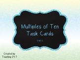 Multiples of Ten Task Cards