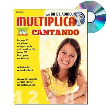 Spanish Math (Multiplication) - MP3 Album Download w/ Lyrics & Activities