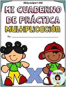 Multiplicación - Cuaderno de Práctica