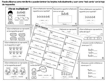 Multiplicación : Estrategias y mini librito