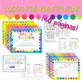 Multiplicación - Libros, pasaporte y diplomas - Locos por