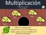 Multiplicación - Power Point No editable