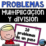 Multiplicación y división - Multiplication and division Spanish