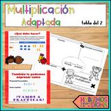 Multiplication Special Education Adapted_Multiplicación adaptada