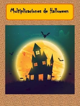 Multiplicaciones de Halloween