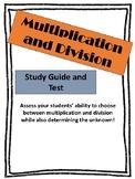 Multiplicaiton and Division