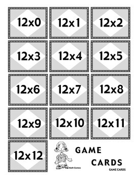 Multiplicando Por 12 - Spanish Multiplication Math Games/Lesson Plans