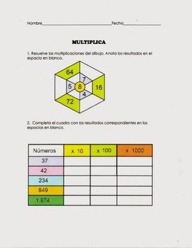 Multiplicando con matrices