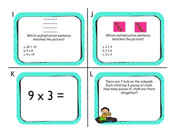 Multiplication (0-12) Scoot