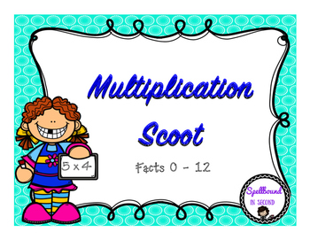 Multiplication (0-12) Scoot