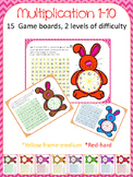 Multiplication 1-10 (bunny)