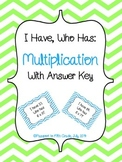 Multiplication Facts: I Have Who Has