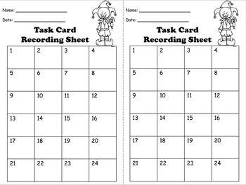 Multiplication 1 Decimal Place Task Cards