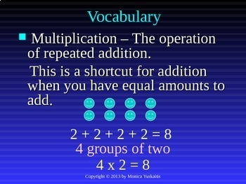 Common Core 3rd - Multiplication 1 - Introduction & Ways to Multiply