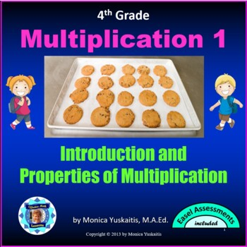 Common Core 4th - Multiplication 1 - Multiplication Basics