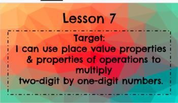 Multiplication 1 by 2 Digit Numbers