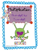 Multiplication: 1-digit by 2-digit