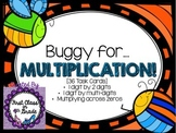Multiplication 1 digit by 2 digits Task Cards (36 Included)