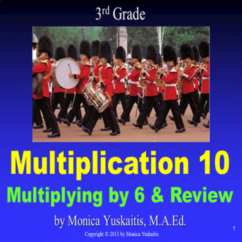 Common Core 3rd - Multiplication 10 - Multiplying 6 and Review