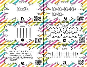 Multiplication 10's