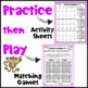 Practice then Play: FREE Multiplication Worksheets and Games for Fact Fluency