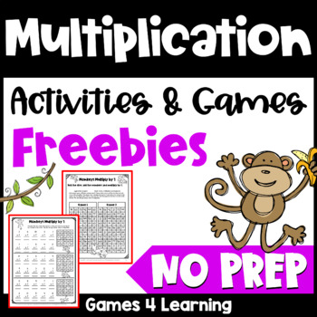 Multiplication Free NO PREP Multiplication Games