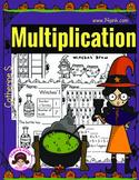 Multiplication Worksheets - Halloween