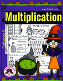 Halloween Multiplication Worksheets
