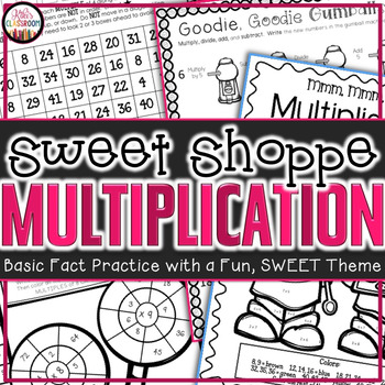 Multiplication Fact Practice - 3rd Grade Print & Go Pack